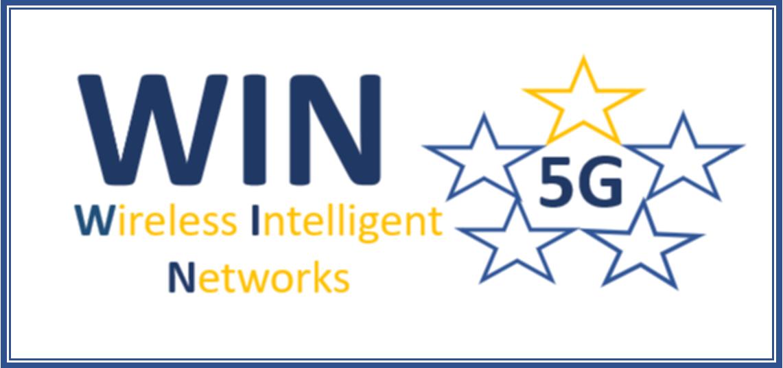 Wireless Intelligent Networks - 5G WIN logo